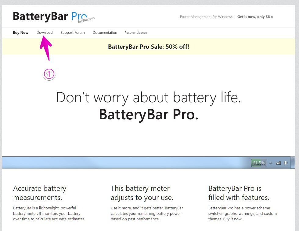 BatteryBar公式サイト
