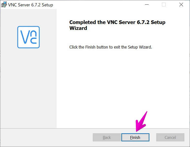 VNCサーバのインストーラー