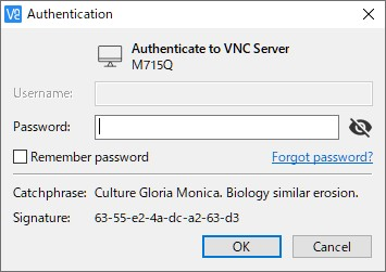 VNCアクセス認証