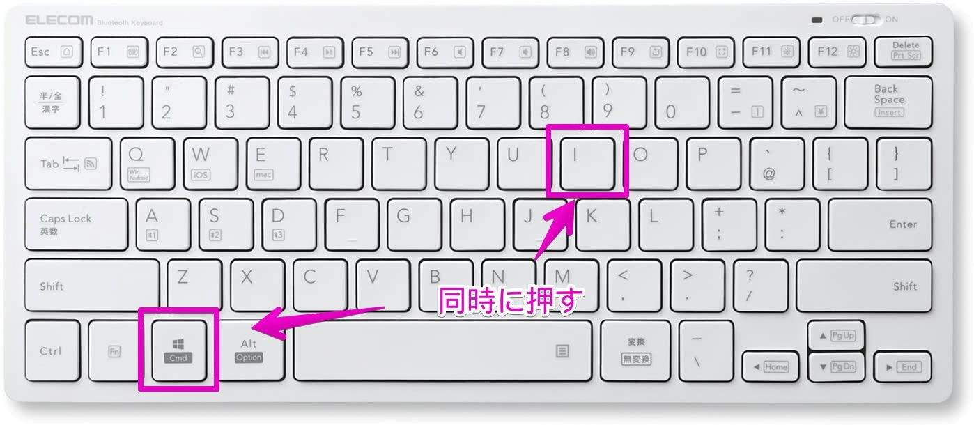 Windows用の日本語キーボード